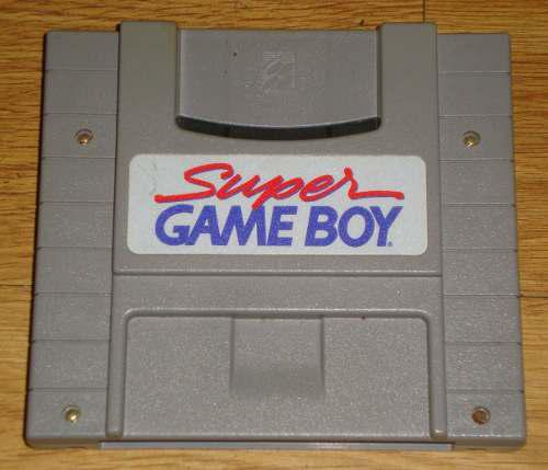 Super Nintendo Adaptador De Super Game Boy Para Sne(ss02016)