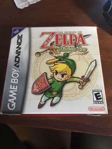 The Legend Of Zelda Minish Cap Nintendo Gameboy Advance Gba