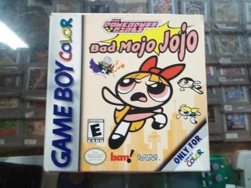 The Powerpuff Girls Bad Mojo Mojo Game Boy Color Nintendo Gb
