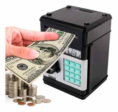 Alcancia Caja Fuerte Electronica Billetes Y Monedas H