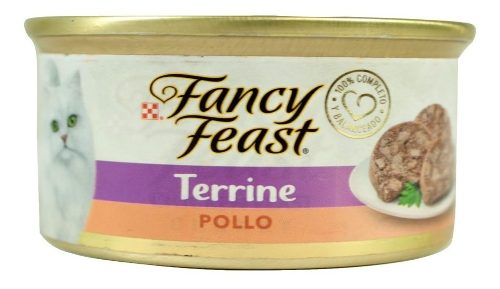 Alimento Para Gato Fancy Feast Terrine Pollo 85 G