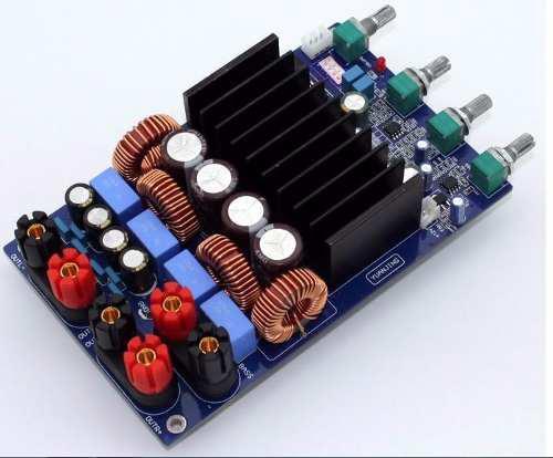 Amplificador De Audio De 2.1 Canales 150 W X 2 + 300 W Bass.