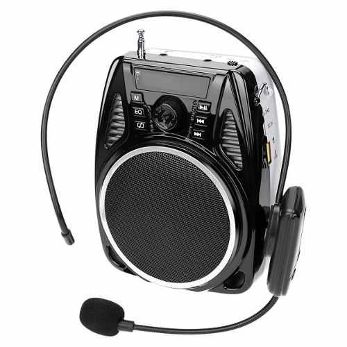 Amplificador De Voz, Uhf Amplificador Pa Inalámbrico Con