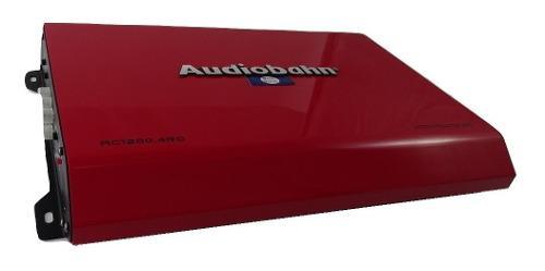 Amplificador Fuente Audiobahn Ac1200.4 4 Canales 2400 Watts