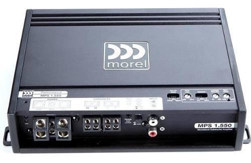 Amplificador Morel Mps1.550 Monoblock 550 Rms