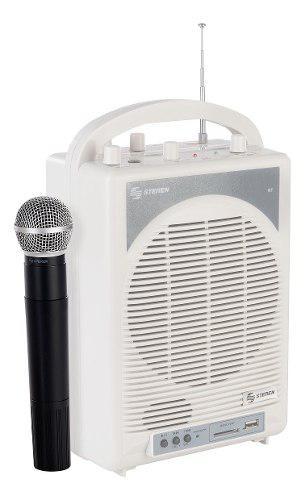 Amplificador Portátil De 500 W Pmpo Con Micrófono Inalám