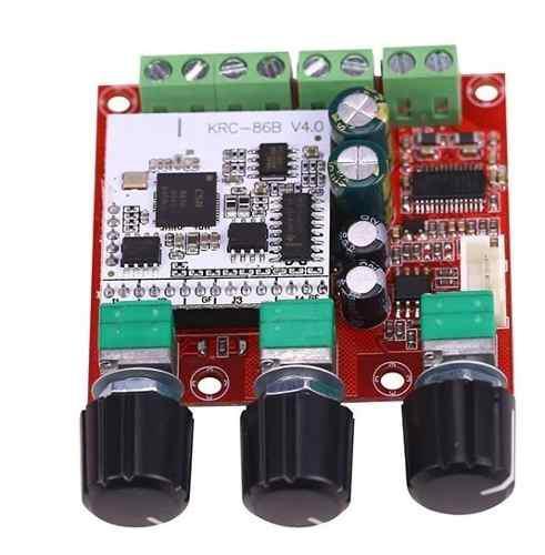 Amplificador Tpa3110d2 2.1 Canales 15+15+30 Watts Bluetooth!