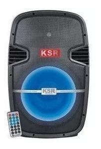 Bafle Amplificad Bocina 15 Bluetooth Fm Usb Microfono 6516