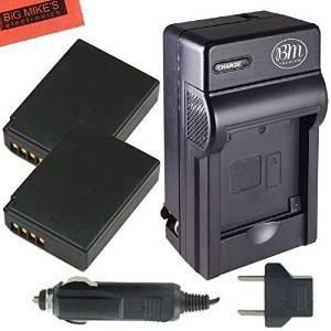 Bm Premium 2-pack De Baterías Lp-e10 Y Kit De Cargador De