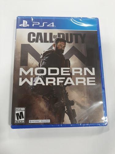 Call Of Duty: Modern Warfare Standard Edition - Ps4 - Nuevo