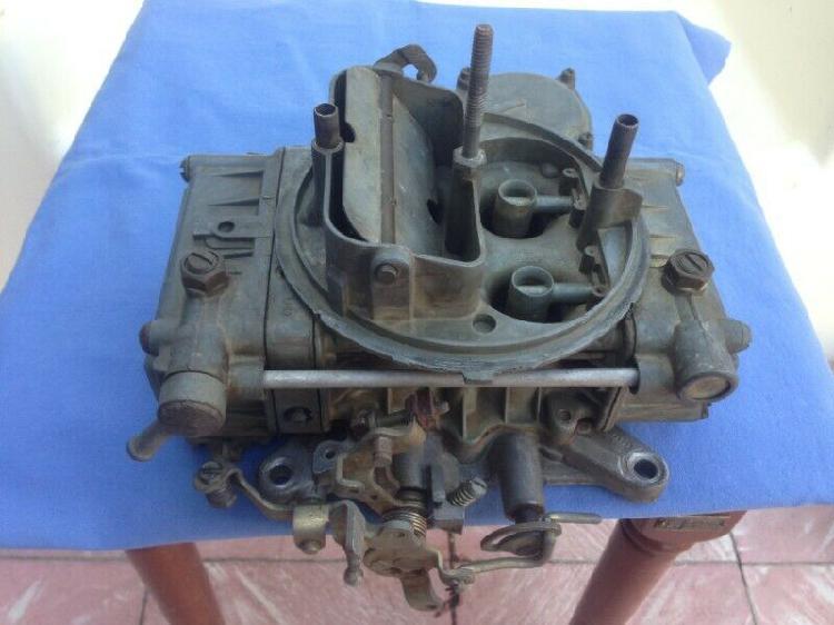 Carburador Holley USA de cuatro gargantas