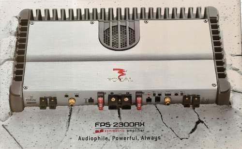 Focal. Amplificador De Gama Alta Fps 2300rx Class Ab