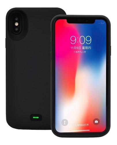 Funda Case Cargador mah Bateria Pila iPhone X Xs Xr Max