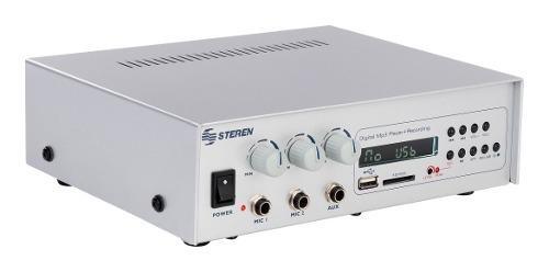 Kit De 4 Bocinas De Plafon Amplificador De 40 Watts Y Cable