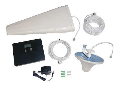 Kit De Amplificador De Señal Celular Epcom 500mts 3g Y 4g