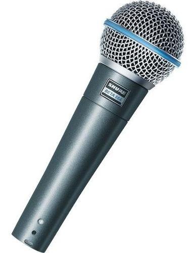 Micrófono Shure Beta 58 A Vocal Supercardioide Original