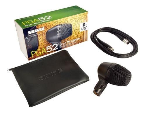 Micrófono Shure Pga52 Xlr Para Bombo De Batería