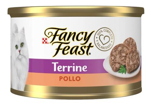 Purina Gato Fancy Feast Terrine Pollo Lata 85g