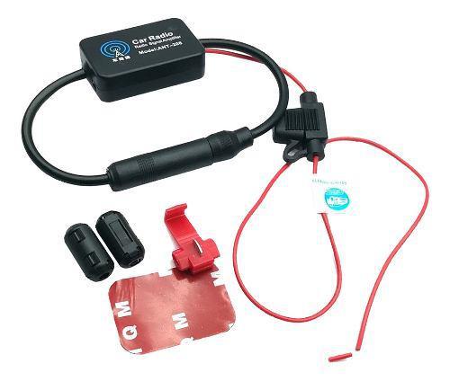 Universal Auto Car Radio Fm Antena Señal Amplificador