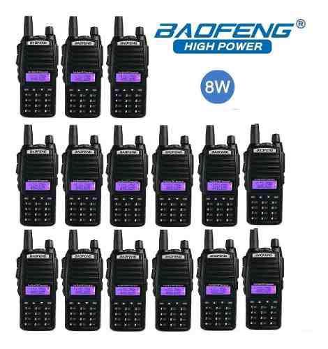 8w 15 Radios Baofeng Uv-82 Hp Vhf/uhf Máxima Potencia