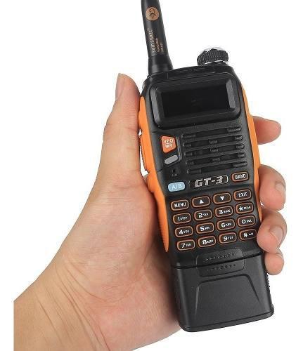 8w Radio Baofeng Gt-3tp Mark Iii Vhf/uhf *pila De 3800 Mah*