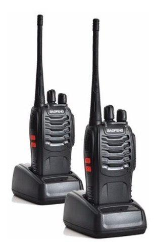 Baofeng Radio Bf-888s Walkie Talkie Uhf 400-470mhz Pack-2