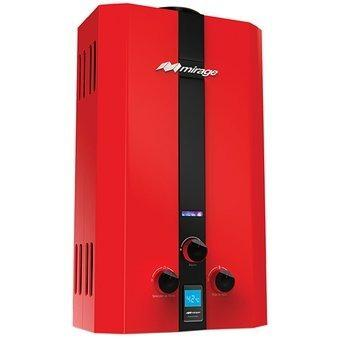 Boiler Gas Lp, Serie Flux, 10l/min,gas Lp,color Rojo Mbf10bb