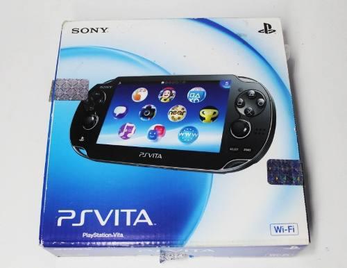 Consola Psvita + Memoria De 16 Gb + 1 Juego + Estuche