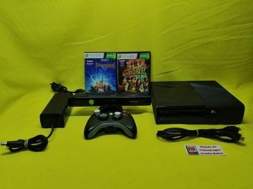 Consola Xbox 360 Completo Con Kinect Y 3 Juegos Con