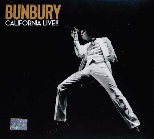 Enrique Bunbury, California Live! Cd Digipack Nuevo Sellado