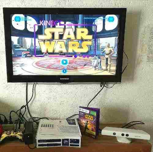 Impecable Consola Xbox 360 Edición Limitada Star Wars 320gb