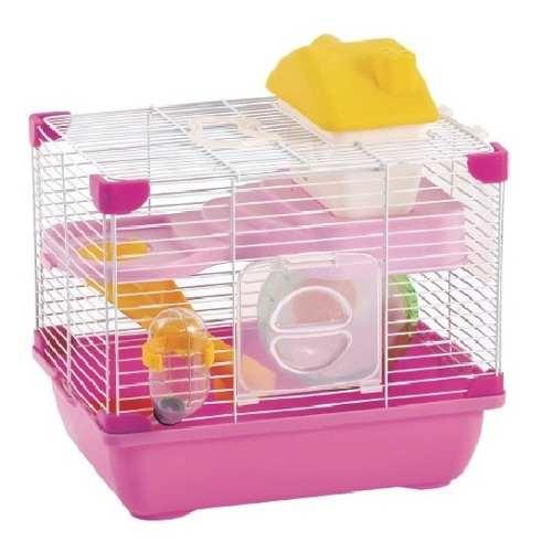 Jaula Plastica Para Hamster Sunny 28.9x22.2x30.1 Cm Oferta