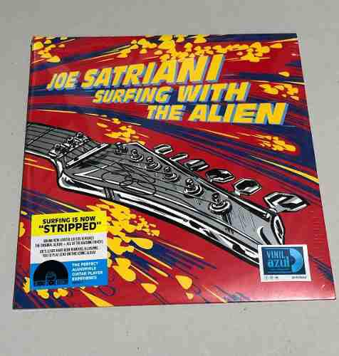 Joe Satriani Surfing With The Alien 2-lp Vinyl Rsd Vinilos C