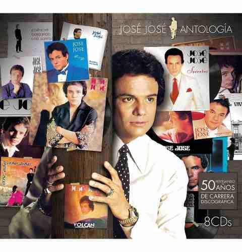 Jose Jose Antologia 8 Discos