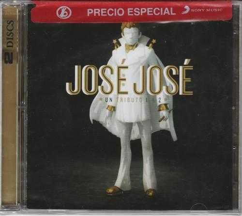 Jose Jose - Un Tributo 1 Y 2 Cd Nuevo!!
