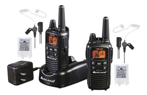Kit Radios Midland C Manos Libres Lf1vp4 48km* 36ch Estuche