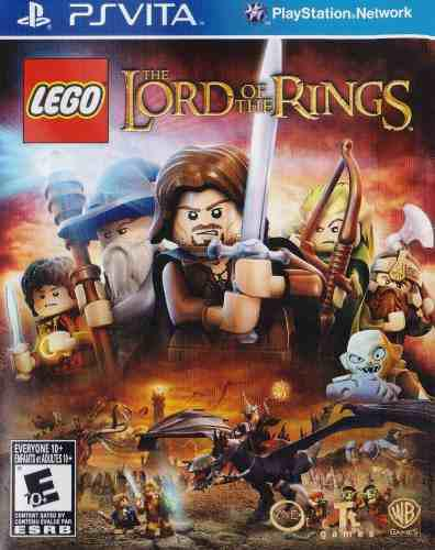 Lego The Lord Of The Rings Psvita Nuevo En Karzov