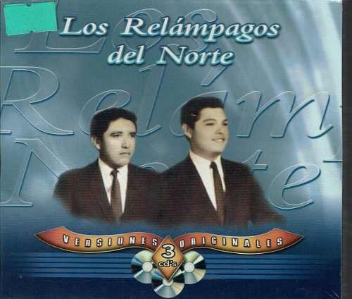 Los Relampagos Del Norte Versiones Originales 3cd's