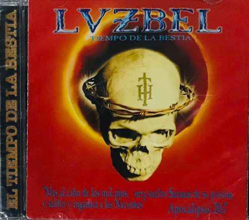 Luzbel, El Tiempo De La Bestia Cd, Nuevo Sellado