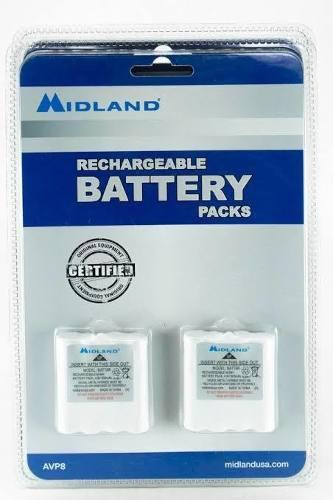 Midland Avp8 Batt6r Batería Recargable Para Radios Serie