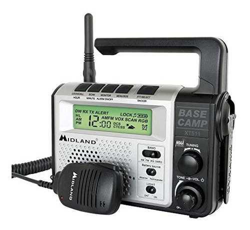 Midland Frsgmrs Radio De Emergencia De 2 Canales Talla Úni