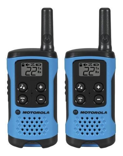 Motorola T100 Talkabout Paquete De 2 Radios