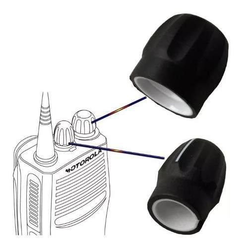 Par De Perillas Botones Radio Motorola Ep450 Pro3150 Pro5150