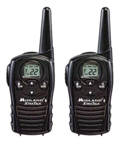 Par De Radios Midland Lxt118 22 Canales 28 Kilometros Evox