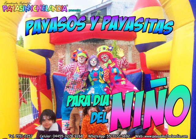 Payasos Bonitos para Dia del Niño - DFyEdoMx