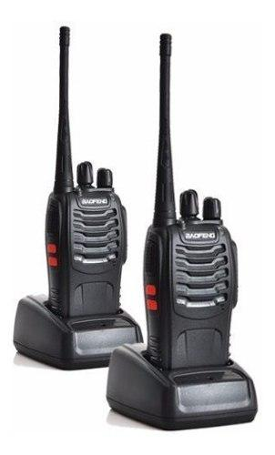 Radio Baofeng Bf-888s 2-pack Analógico Portatil Walkie Uhf