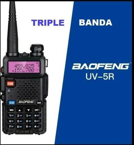 Radio Baofeng Uv-5r Tri-banda 5w. Nuevo En Caja