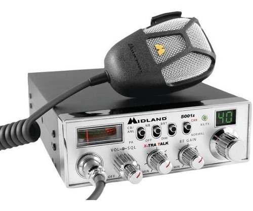 Radio Cb Midland - 40 Canales - Mod. 5001z - 4 Watts