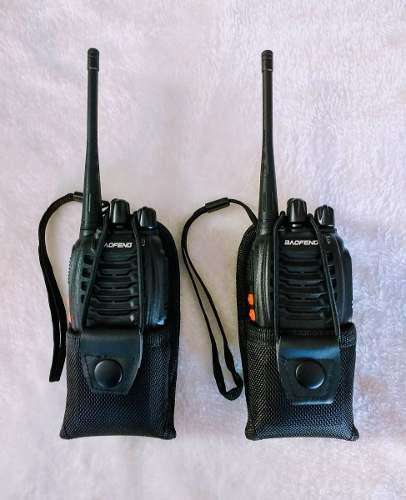 Radio Portatil Baofeng Bf-888s Uhf Con Funda **envio Gratis