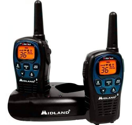 Radio Walkie Talkie 560 Midland 2 Vias 26 Millas Recargable